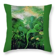 Unfurling Rainbow Soul Collection Throw Pillow