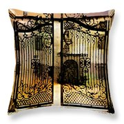 Unguarded Moment Throw Pillow
