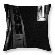 Unhinged Throw Pillow