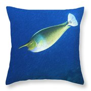 Unicorn Fish 2 Throw Pillow