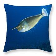Unicorn Fish Throw Pillow