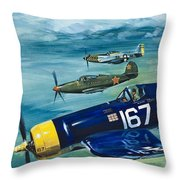 Unidentified Aircraft Throw Pillow