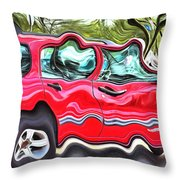 Union Built At Gm Government Motors Throw Pillow
