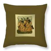 Union Cavalry Throw Pillow
