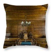 Union Christian Church Sanctuary Throw Pillow