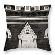 Union Gospel Tabernacle - Aka Ryman Auditorium Throw Pillow