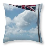 Union Jack Off Land's End Throw Pillow