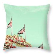 Union Jacks Throw Pillow