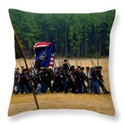 Union On The Move Throw Pillow