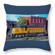 Union Pacific 289 Throw Pillow
