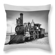 Union Pacific No. 119 Throw Pillow