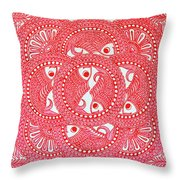 Union  Red Throw Pillow