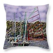 Union Sail Throw Pillow