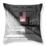 Union Station 2 - Kansas City Throw Pillow