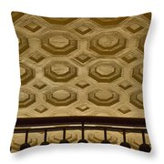 Union Station Ceiling #2 Throw Pillow