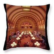 Union Station - St. Louis Throw Pillow