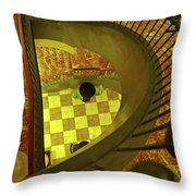 Union Station Stairs Throw Pillow
