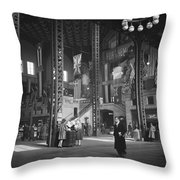 Union Station Train Concourse Throw Pillow