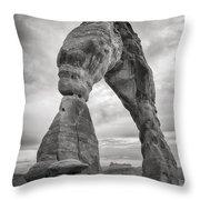 Unique Delicate Arch Throw Pillow by Adam Romanowicz