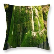 Unique Famous Amazing Bigar Waterfall Throw Pillow