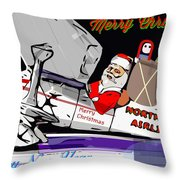 Unique Greets Original Holiday Greeting Card  Throw Pillow