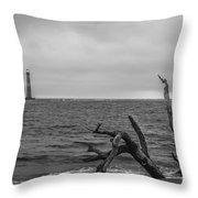 Unique Morris Island View Throw Pillow