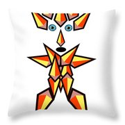 Unique Shape Hero Throw Pillow