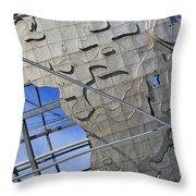 Unisphere Close Up 2 Throw Pillow