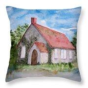 Unitarian Church Throw Pillow