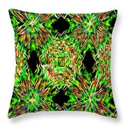 United Colors Abstract Throw Pillow