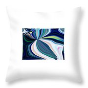 United Fronts Of A Rainbow Throw Pillow