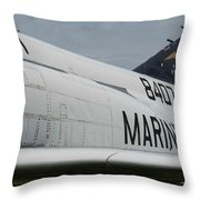United State Marines Throw Pillow