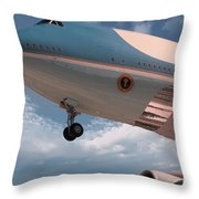 United States Air Force One Throw Pillow
