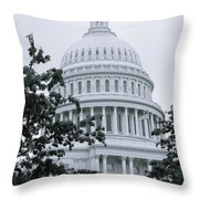 United States Capital Throw Pillow