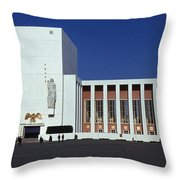 United States Pavilion Lc Throw Pillow