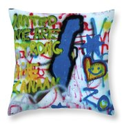 United We Are Strong Throw Pillow