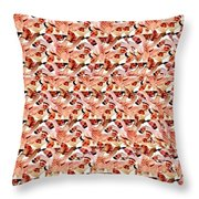 United We Win Stereogram Throw Pillow