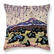 Unity Awareness In The Field Of Space And Time Throw Pillow