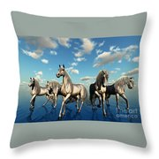 Unity Throw Pillow by Corey Ford
