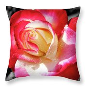 Unity Rose Throw Pillow