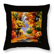 Unity With Nature Throw Pillow