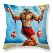 Universal Acrobat Throw Pillow