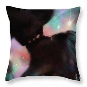 Universal Alingment Throw Pillow