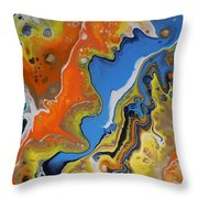 Universal Color Throw Pillow