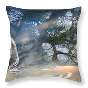 Universal Flow Throw Pillow
