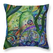 Universal Forest. Throw Pillow