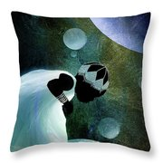 Universal Look Throw Pillow