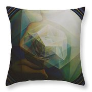 Universal Map Throw Pillow