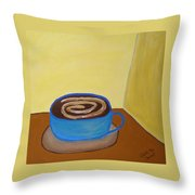 Universal Mocha Throw Pillow