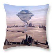 Universal Time Throw Pillow